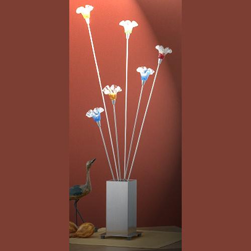 Tischleuchte Eglo 86074 Chico Blüten bunt