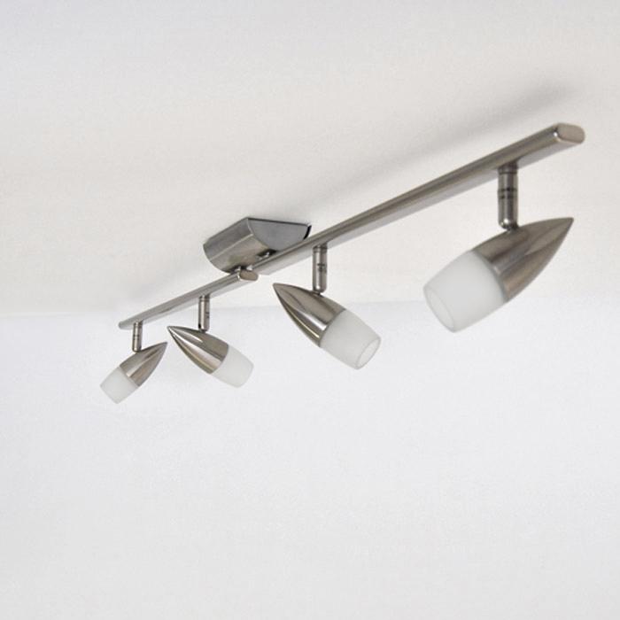 deckenleuchte spot leiste design deckenlampe halogen led geeignet dimmbar neu ebay. Black Bedroom Furniture Sets. Home Design Ideas