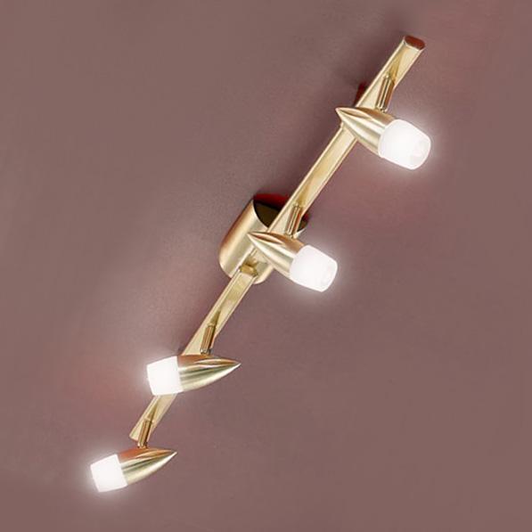 deckenleuchte deckenlampe eglo messing 1065mm gold 4 flammig led mglich g9 - Deckenlampe Wohnzimmer Gold