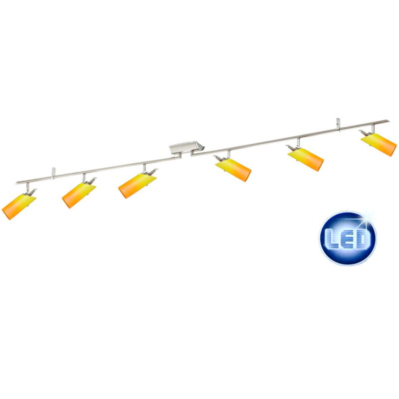 LED Deckenleuchte Eglo gelb-orange 41876238 mit 6x 5W G9 LED