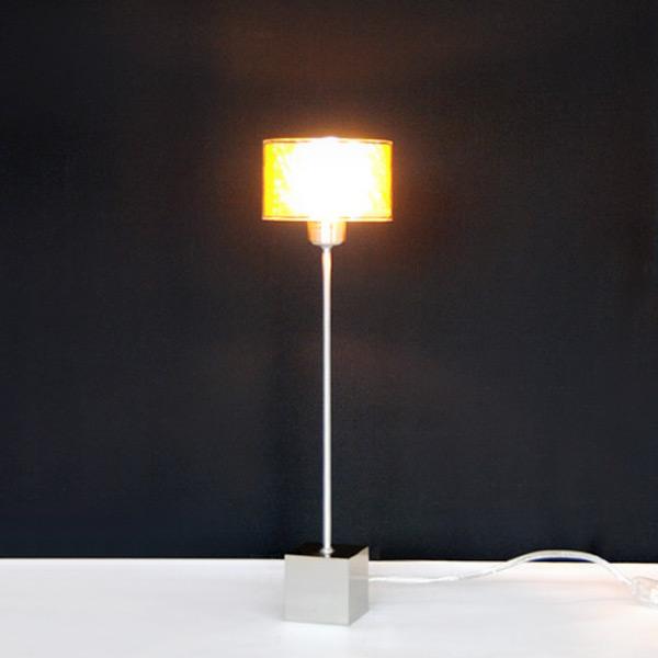 tischleuchte design tischlampe nachttischlampe 40cm led m glich 1 flammig neu 9002759875862. Black Bedroom Furniture Sets. Home Design Ideas