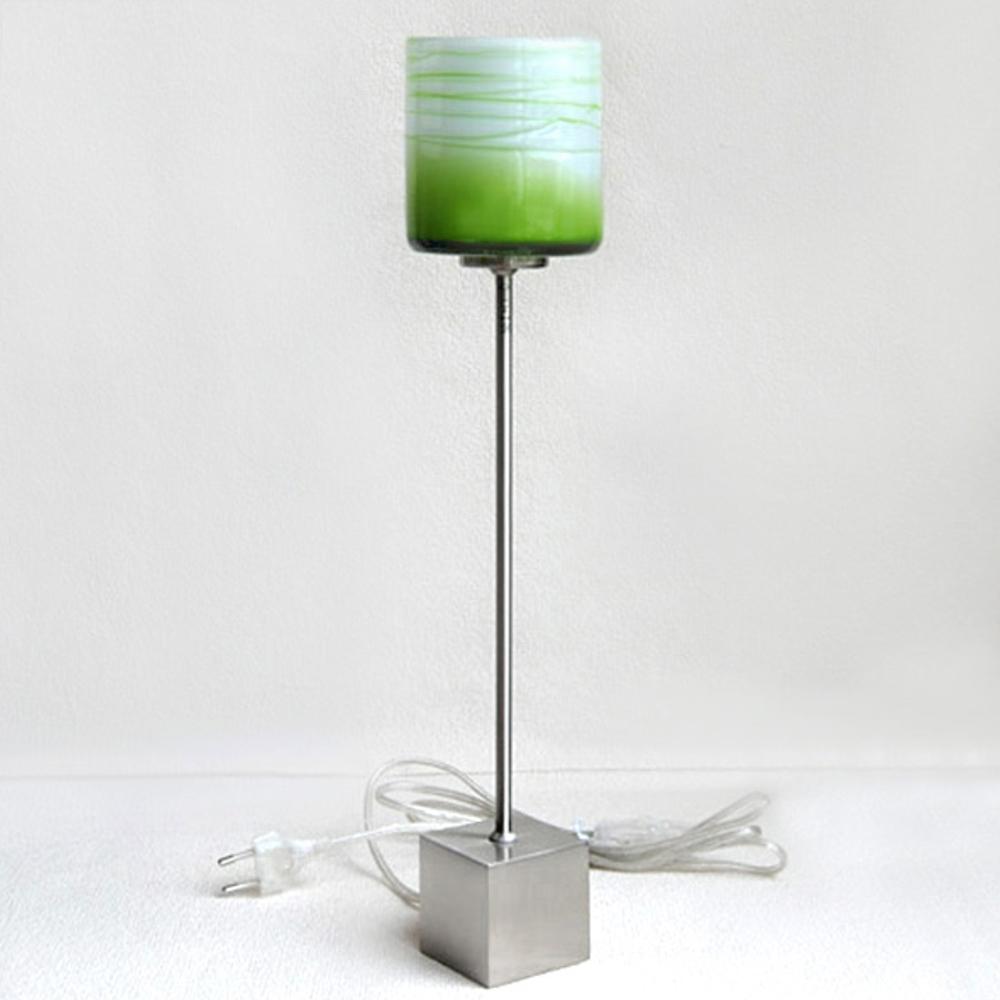 lampe de table eglo verre vert lampe de chevet led possible inox ebay. Black Bedroom Furniture Sets. Home Design Ideas