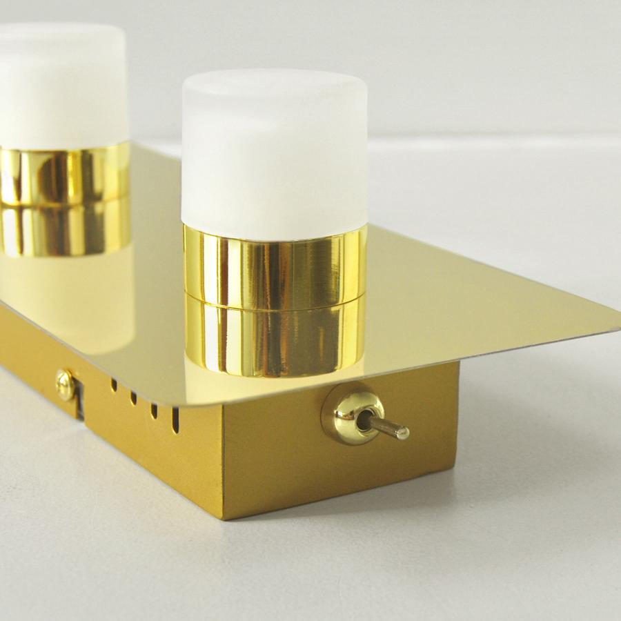 led deckenleuchte wandlampte spiegelleuchte 12w deckenlampe 36x11cm schalter neu ebay. Black Bedroom Furniture Sets. Home Design Ideas