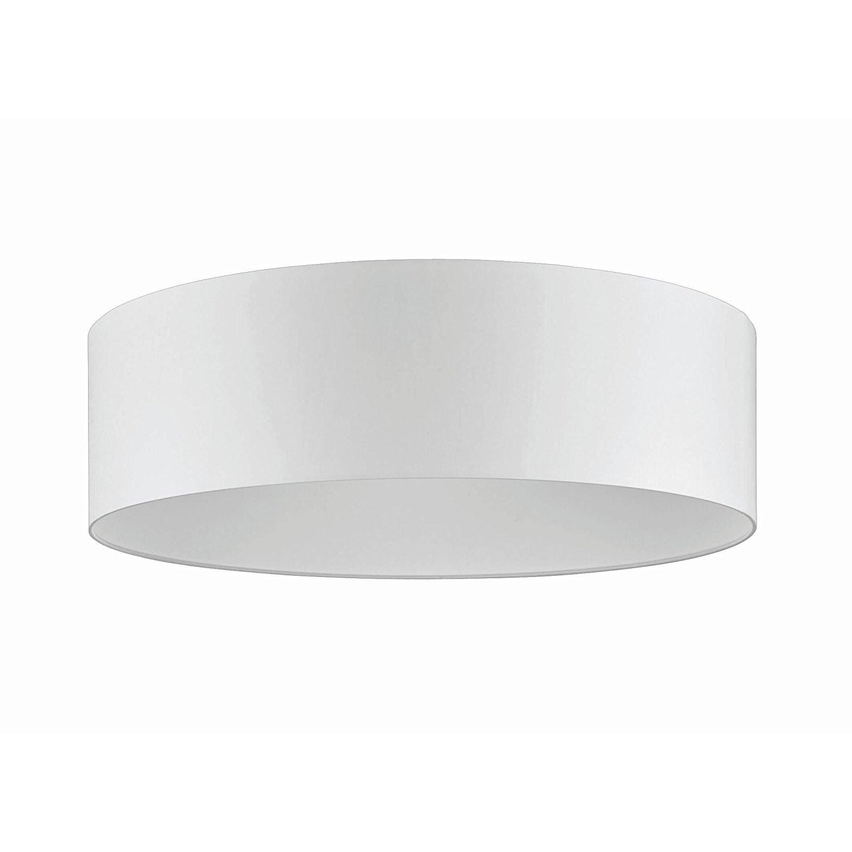 Fischer Leuchten LED Deckenlampe F.L.I 215131 Stoff Deckenleuchte weiß