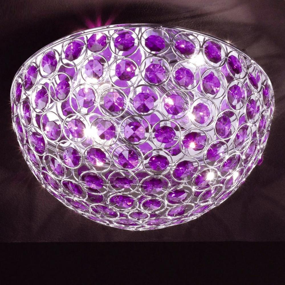 Deckenleuchte Honsel Leuchten 26582 Brillo Dela purple