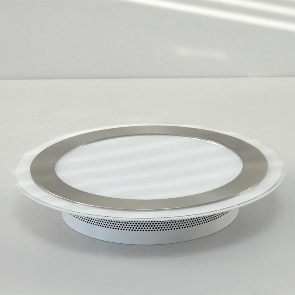 led deckenleuchte 12w design deckenlampe honsel 29621 lime ufo wei nickel matt ebay. Black Bedroom Furniture Sets. Home Design Ideas