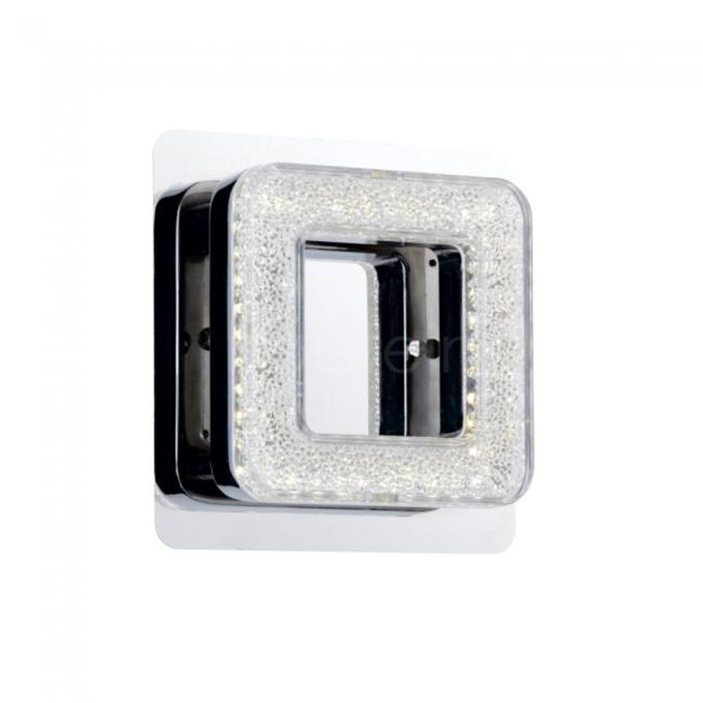 LED Wandleuchte Honsel 30191 Wandlampe 8,2W Chrom Eckig Modern