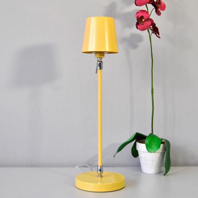 Tischleuchte Honsel Leuchten 52161 Rodari pastell-gelb