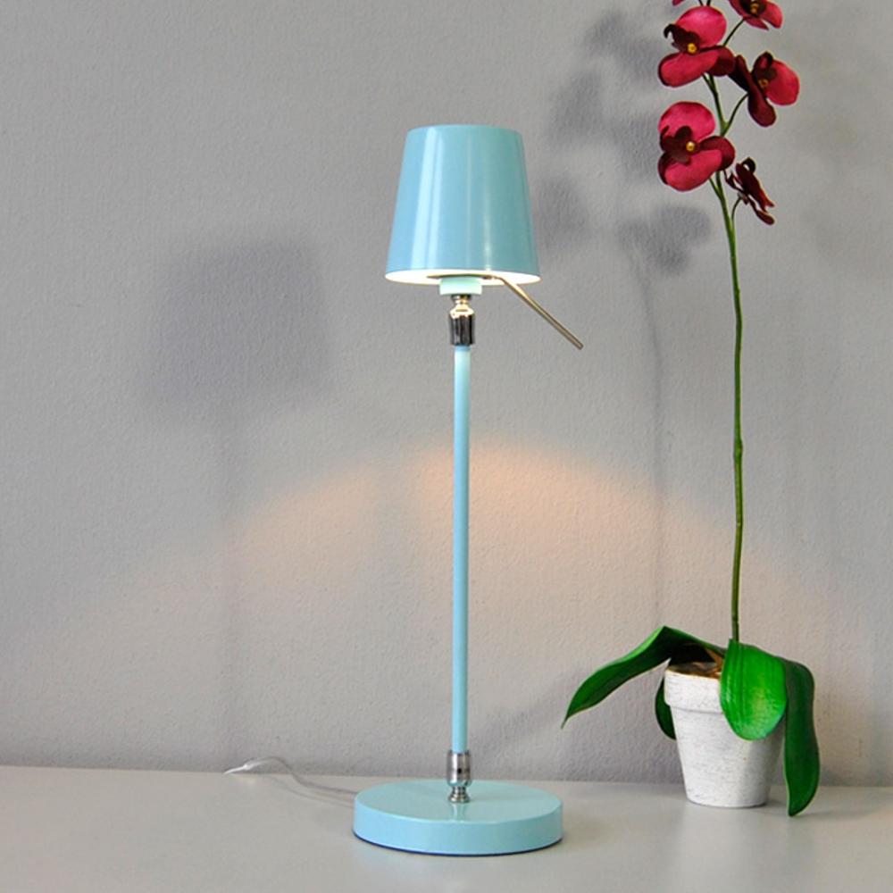 Tischleuchte Honsel Leuchten 52181 Rodari pastell-blau