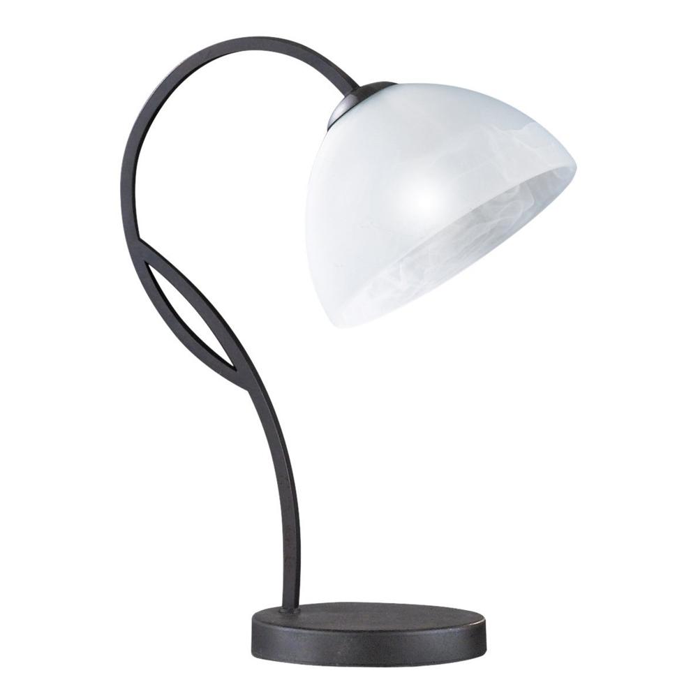 54321 Honsel Tischleuchte E-14 Tischlampe, LED möglich, rostfarbig
