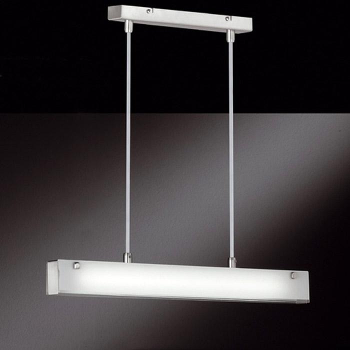 Pendelleuchte 60241 Honsel Leuchten Talos Glasplatte weiß