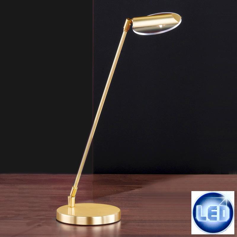 LED Tischleuchte Honsel Leuchten 93561 Luda Rund