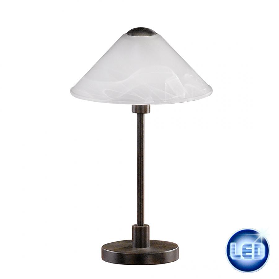 LED Tischleuchte Honsel Leuchten 96211 mit 4W E14 LED Kugel