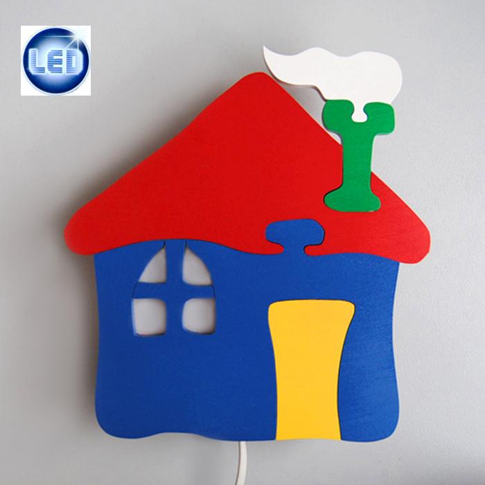 LED Kinderleuchte Wandleuchte Nachtlicht Spielhaus mit 1,4W E14 Paulmann LED