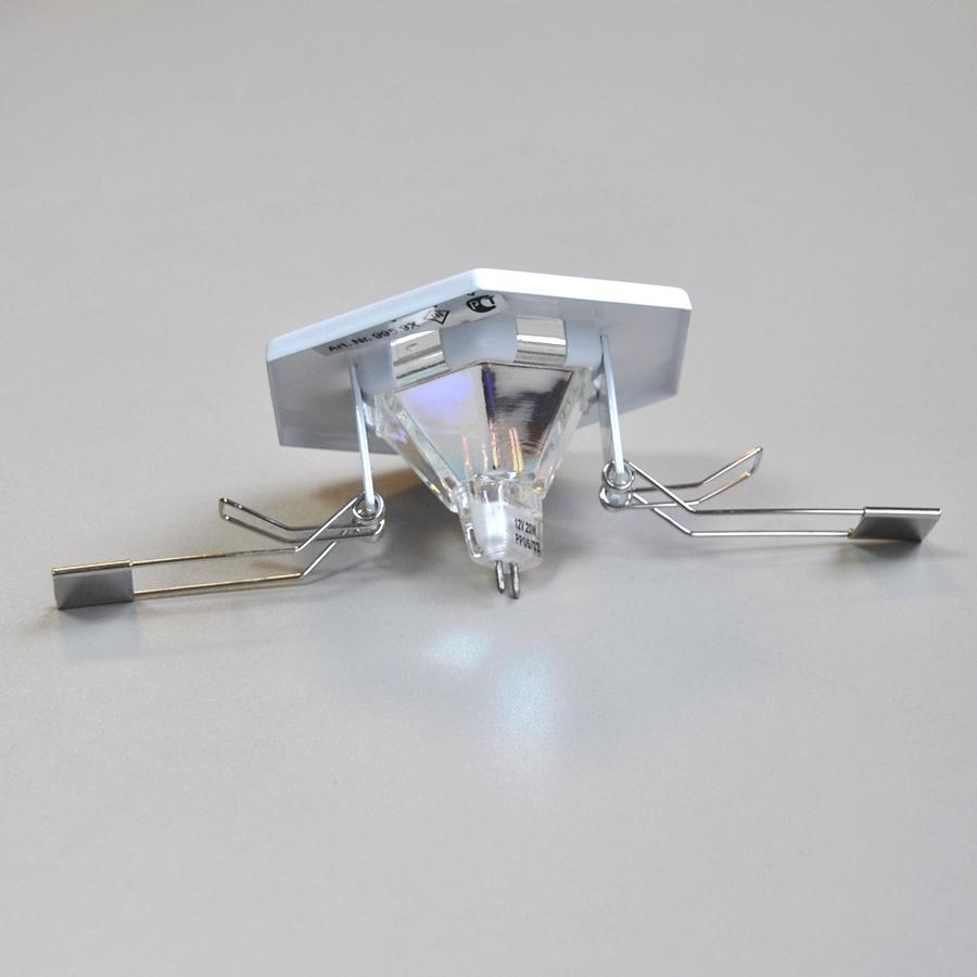3er Set Einbauleuchte TIP von Paulmann 12V Hexa weiß Einbaustrahler ...