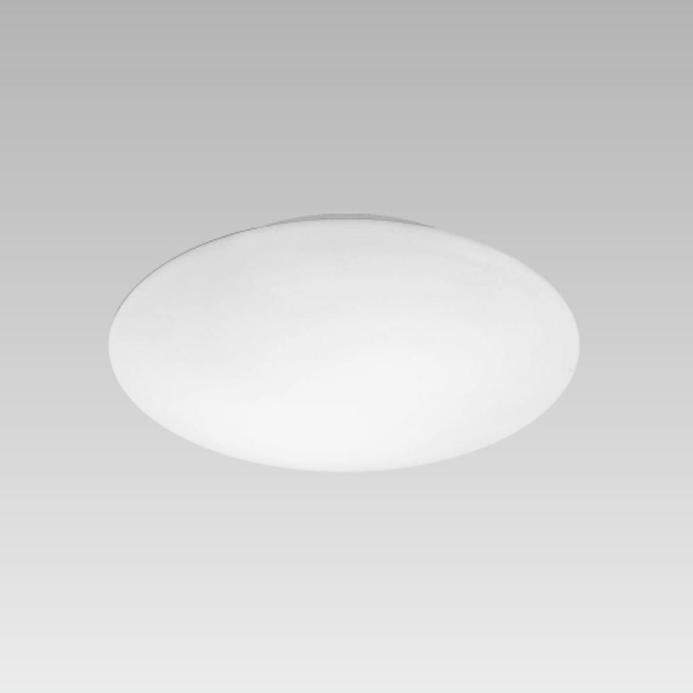 Plafonnier lampe pour salle de bain luminaire e14 blanc for Luminaire plafond salle de bain