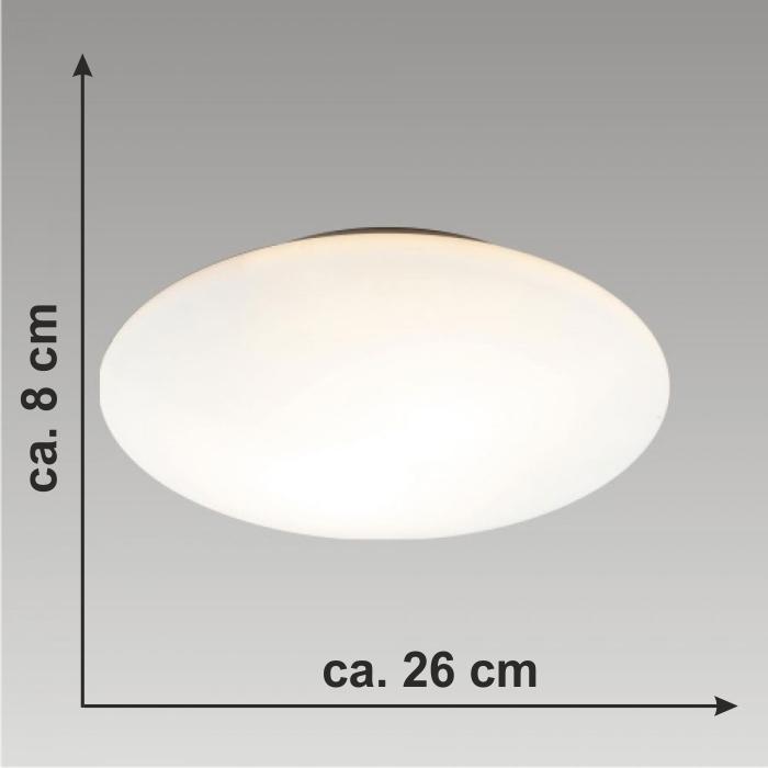 Plafonnier lampe pour salle de bain luminaire e14 blanc for Luminaire ip44 salle bain