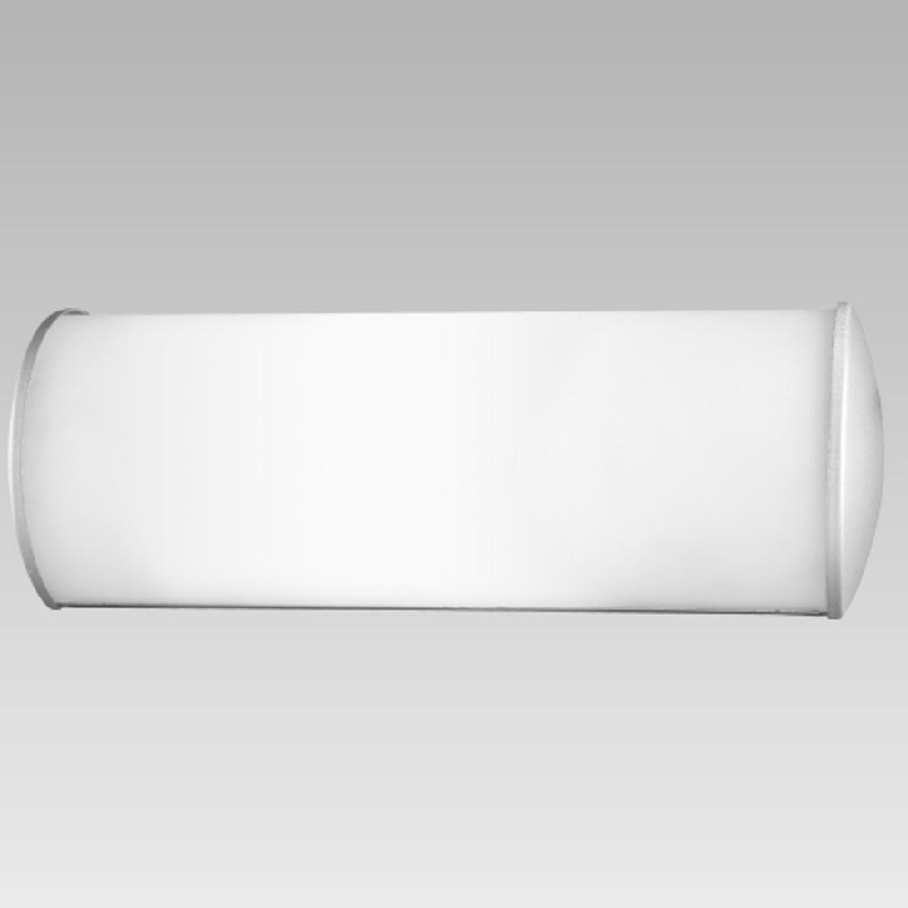Wandleuchte Prezent 25078 Petra Badleuchte Badlampe Silber Weiß