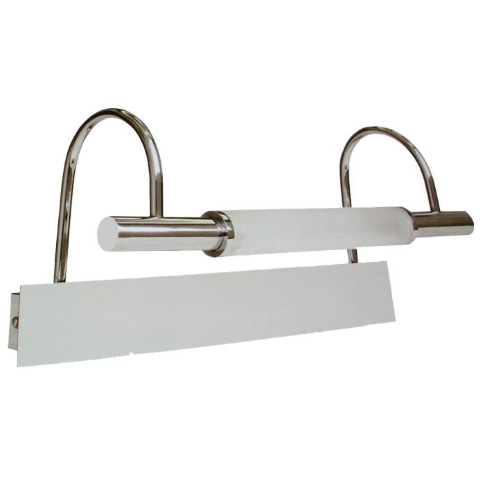 Badlampe spiegelleuchte wandleuchte glas chrom design bad for Badlampe design