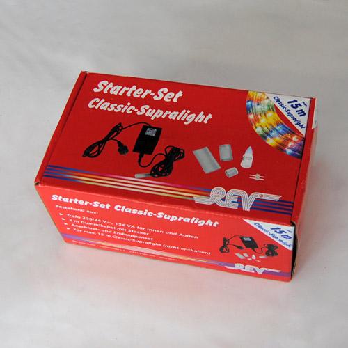 Trafo Starter-Set Supralight Lichtschlauch 230/ 24V Rev 637089